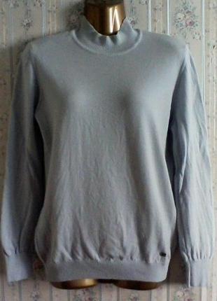 Шерстяной гольф свитер джемпер под горло, разм. 44-46