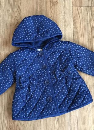 Очаровательная фирменная качественная курточка для девочки демисезонная осенняя
