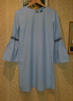 Красивое небесное платье от atmosphere