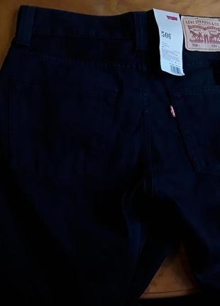 Брендові фірмові джинси levi's 506, оригінал, нові з бірками.