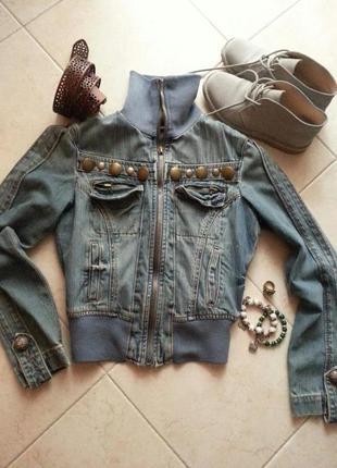 Супер стильная джинсовая куртка