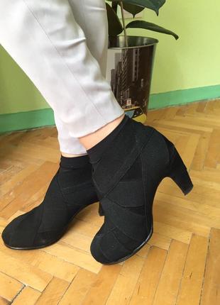 Ботильоны на низком каблуке полусапожки сапоги ботинки united nude размер 36
