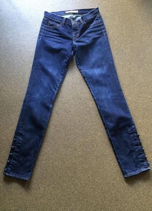 J brand джинсы р 42 - 44  стрейчевые узкие