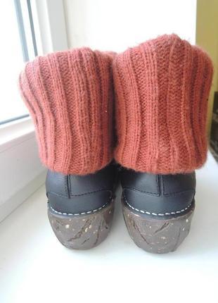 Кожаные деми еврозима ботинки сапоги el naturalista р.374 фото