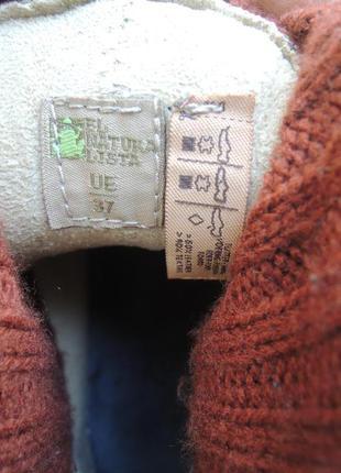 Кожаные деми еврозима ботинки сапоги el naturalista р.375 фото