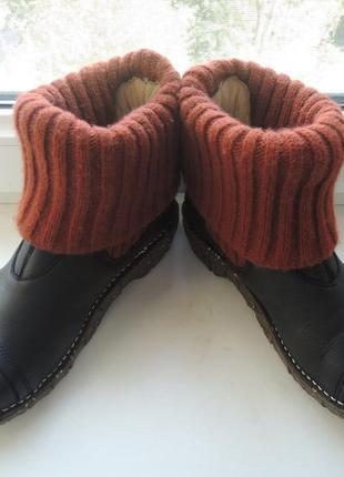 Кожаные деми еврозима ботинки сапоги el naturalista р.372 фото
