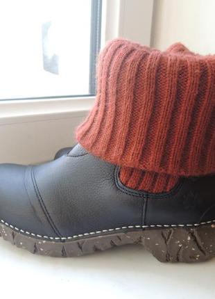 Кожаные деми еврозима ботинки сапоги el naturalista р.373 фото