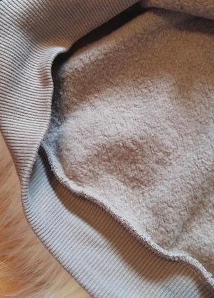 H&m divided свитшот m топ короткий свободный оверсайз тренд свитер капюшон принт4 фото