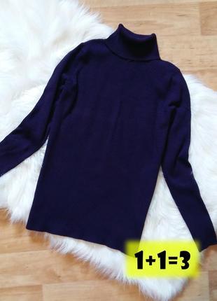 M&s базовый однотонный гольф s-m водолазка пуловер реглан джемпер лонгслив свитер кофта