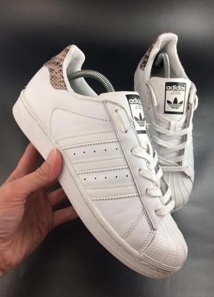 Adidas superstar шкіряні кеди оригінал