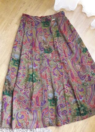 Шерстяная юбка плиссе geiger.