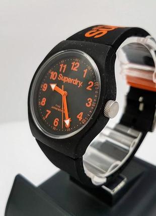 Красивые часы superdry, унисекс. кварц, япония.