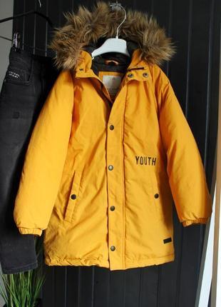 Куртка парка zara
