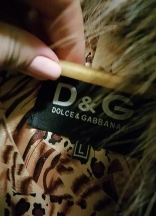 Меховый тёплый жилет жилетка кожа, мех d&g5 фото