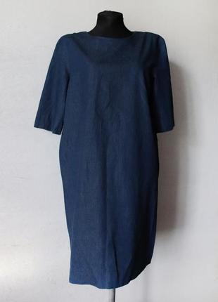 Джинсовое платье cos