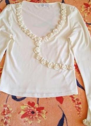 Блуза реглан франция vip art