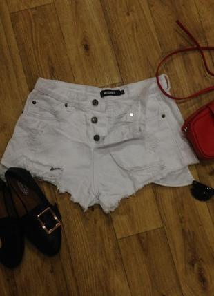 Стильные рванные джинсы размер м