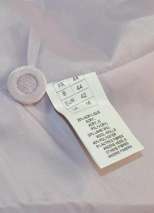Брендовый пиджак жакет блейзер с карманами daxon акрил шерсть этикетка5 фото