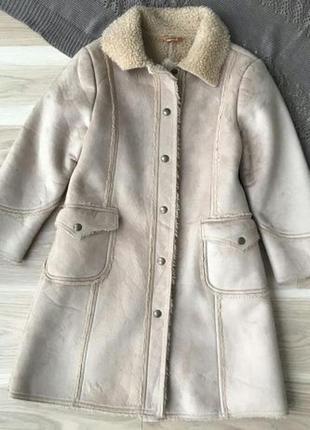 Пальто дубленка mayoral на 8 лет
