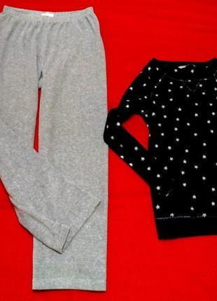 Стильный комплект домашней одежды свитшот и широкие брючки(подборка разнобрендовая)