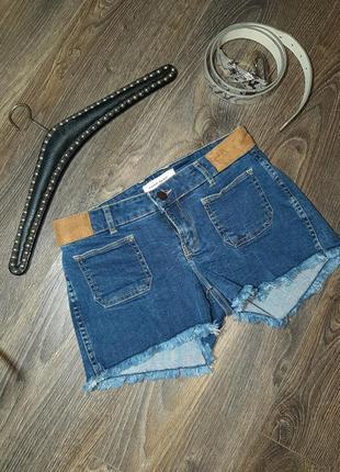 ❗скидки на всю летнюю одежду❗   короткие джинсовые шорты с необработаным низом