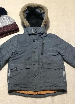 Куртка парка зимняя tu