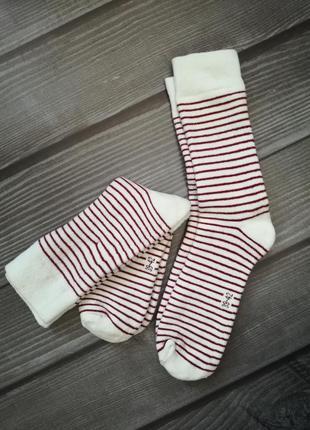 Термо носки, махра 2 пары 39-42 esmara, германия, в полоску