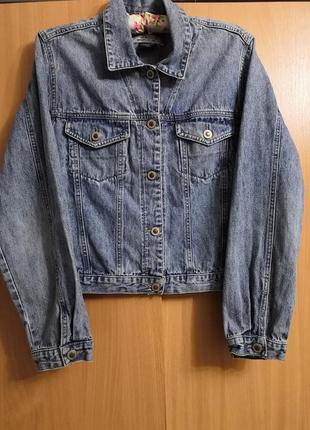 Джинсовая курточка breaker, размер хл