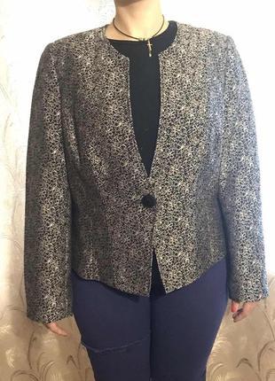 Оригинальный пиджак  для деловой леди