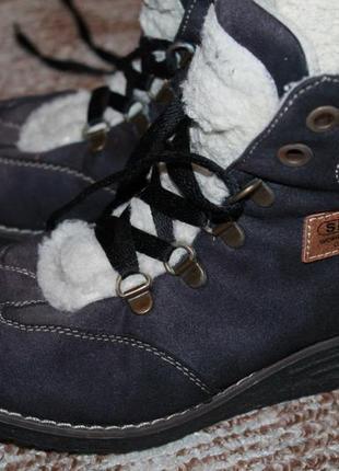 Спортивные теплые зимние ботинки, торг уместен