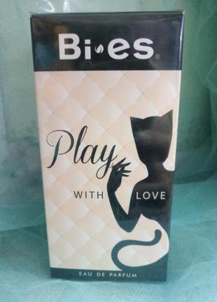 Bi-es play with love парфюмированная вода