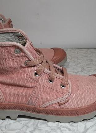 Кеды,сапоги,ботинки palladium (палладиум) pallabrouse rose, 38-39р,стелька24,5см