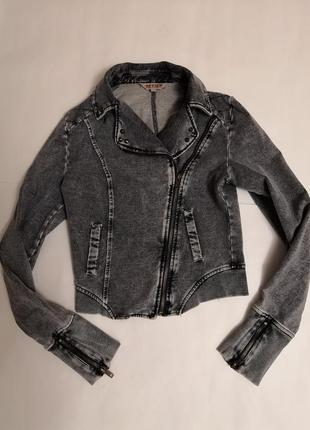 Джинсовый пиджак бренда review, размер с