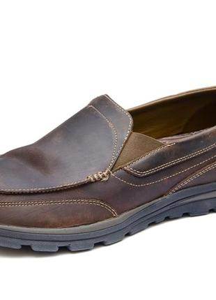 Мокасины skechers relaxed fit superior - gains. стелька 31, 5 см