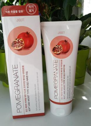 Jigott premium facial peeling gel pomegranate пилинг для лица