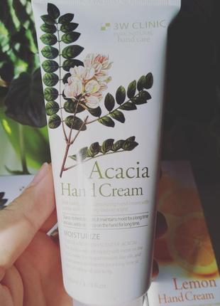3w clinic acacia hand cream крем для рук с экстрактом акации