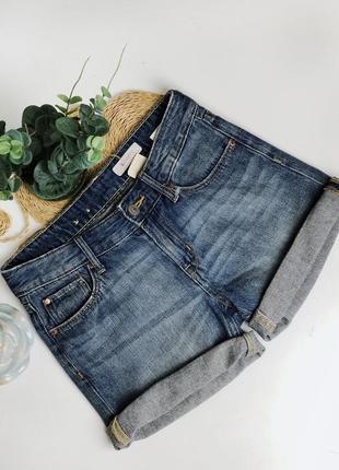 Распродажа синие короткие джинсовые шорты размер xs