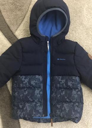 Тёплая куртка на холодную осень