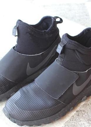 Черные кроссовки носки nike оригинал размер 37,5