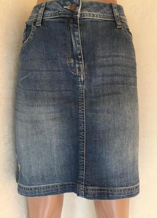 Юбка джинсовая tu