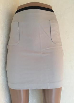 Юбка с карманами котон h&m