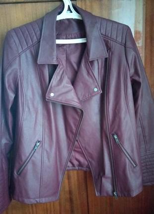 Куртка из кожзама esmara