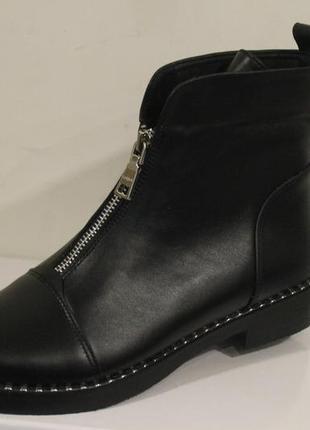 Ботинки  женские кожа натуральная .2 фото