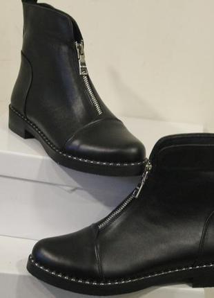 Ботинки  женские кожа натуральная .3 фото