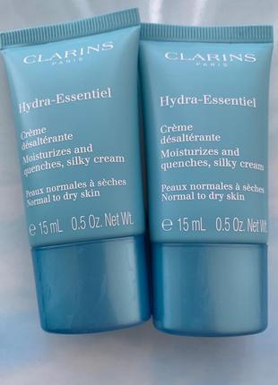 Крем для лица clarins hydra essentiel crème desalterante увлажняющий крем