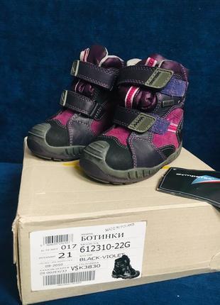 Новые зимние ботинки bartek 21 размер