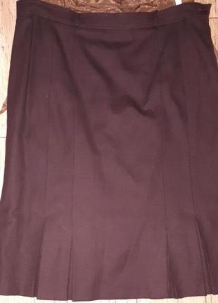 Австрия! новая шерстяная юбка плиссе юбка миди