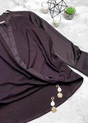 Новая шикарная блуза на запах uk14 next