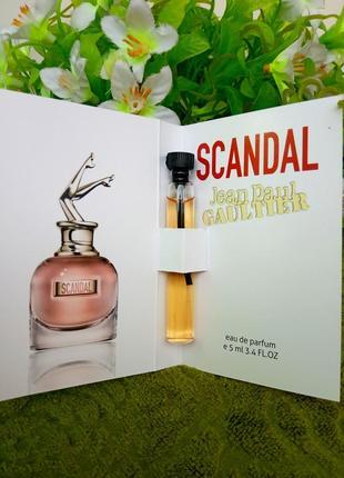 Мини-парфюм с феромоном (пробник) jean paul gaultier scandal - 5 мл