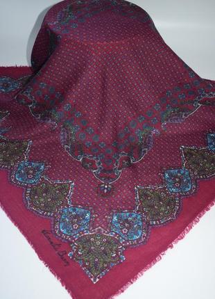 Шерстяной платок laurent de bercy italy